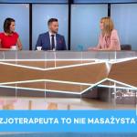 """Dr Urszula Zdanowicz w """"Dzień dobry Polsko""""."""