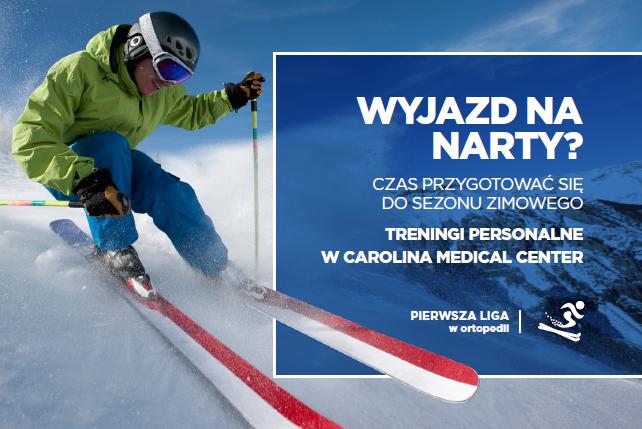 Treningi personalne dla osób przygotowujących się do sezonu zimowego (narty, snowboard).