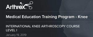 Dr Urszula Zdanowicz była wykładowcą i instruktorem na kursie w Monachium. Szkolenie poświęcone było szyciu łąkotek, rekonstrukcji więzadła krzyżowego przedniego oraz artroskopii kolana.