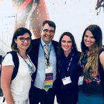 Od lewej: Małgorzata Kowalczyk, Prof Marc Safran - Chief, Divisionof Sports Medicine Director, Stanford Medicine, Cecylia Czymbor i Natalia Mrozińska