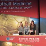 "Fizjoterapeuci Carolina Medical Center na ""Football Medicine Meets the Universe of Sport""."