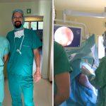 Dr Krzesimir Sieczych uczestniczył w szkoleniu z zaawansowanych technik artroskopowych leczenia braku.