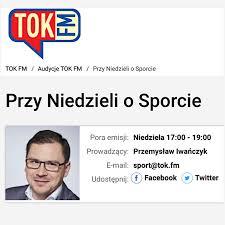 """Dr Zdanowicz była gościem programu """"Przy niedzieli o sporcie""""."""