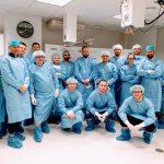 Kurs z artroskopii kolana, organizowany przez CEM.